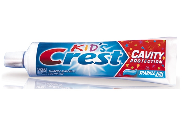 Зубная паста детская Crest Kid's Cavity Protection Sparkle Fun 130g 0 - Фото 1