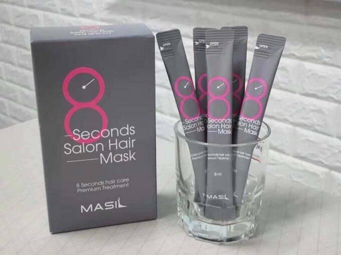 Профессиональная восстанавливающая маска для волос Masil 8 Seconds Salon Hair Mask 8ml