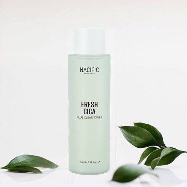 Тонер успокаивающий с экстрактом центеллы для проблемной кожи Nacific Fresh Cica Plus Clear Toner 150ml 0 - Фото 1