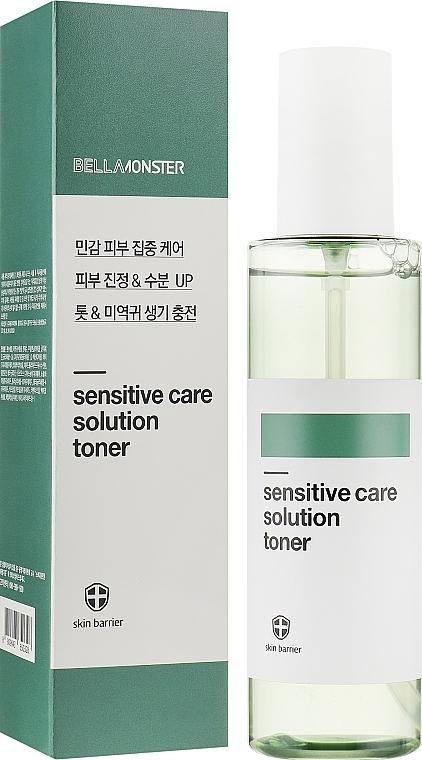Тонер увлажняющий с экстрактом водорослей BellaMonster Sensitive Care Solution Toner 200ml 0 - Фото 1