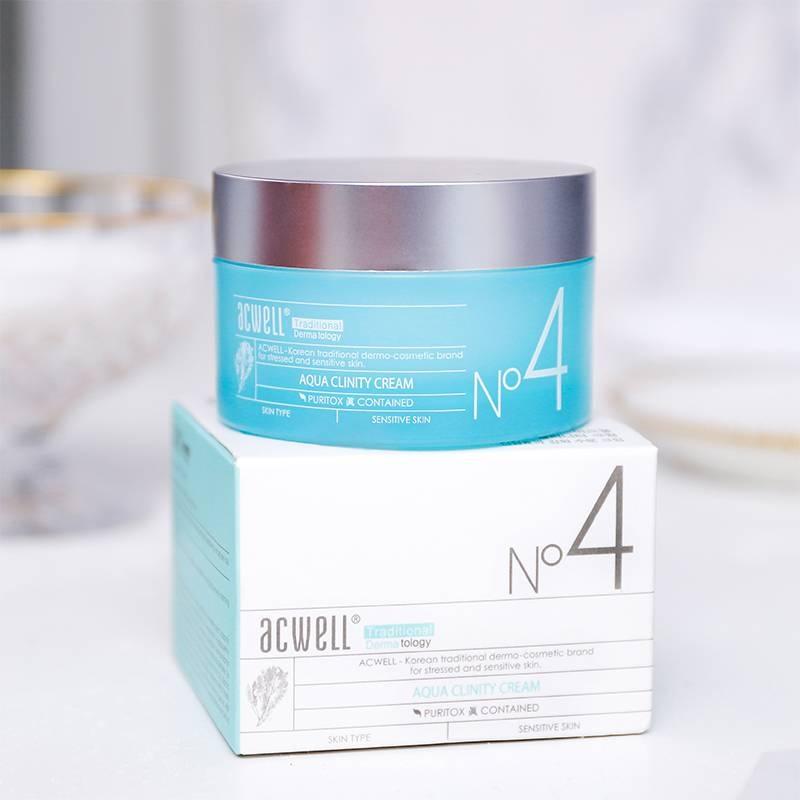 Увлажняющий крем для чувствительной кожи ACWELL Aqua Clinity Cream Original 50 ml