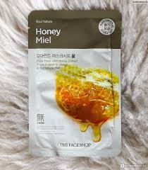 Маска Для Лица С Экстрактом Меда The Face Shop Real Nature Mask Sheet Honey 0 - Фото 1