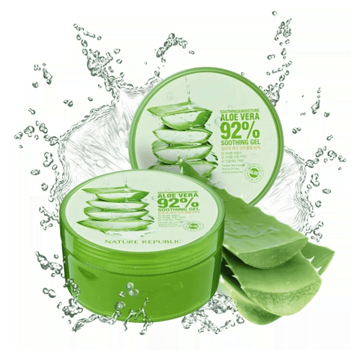 Гель Алое Nature Republic Soothing & Moisture Aloe Vera 92% Soothing Gel 300ml