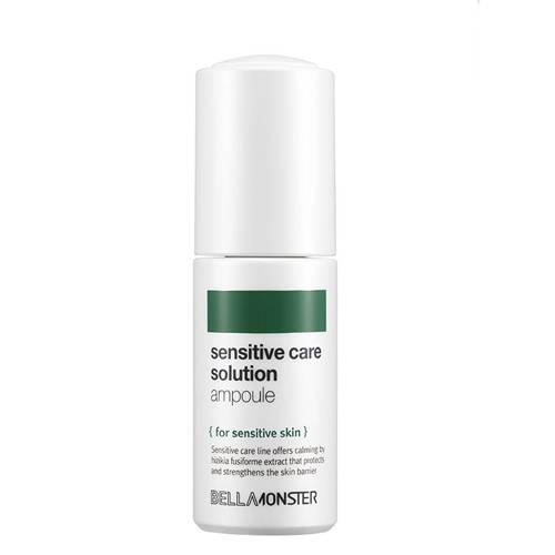 Ампула успокаивающая с экстрактом бурых водорослей для чувствительной кожи BellaMonster  Sensitive Care Solution Ampoule 30ml 1 - Фото 2
