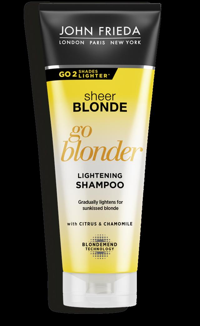 Шампунь для волос осветляющий John Frieda Sheer Blonde Shampoo Go Blonder 250ml 0 - Фото 1