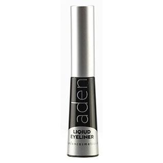 Подводка для глаз водостойкая черная Aden Cosmetics Liquid Eyeliner 5ml 2 - Фото 2