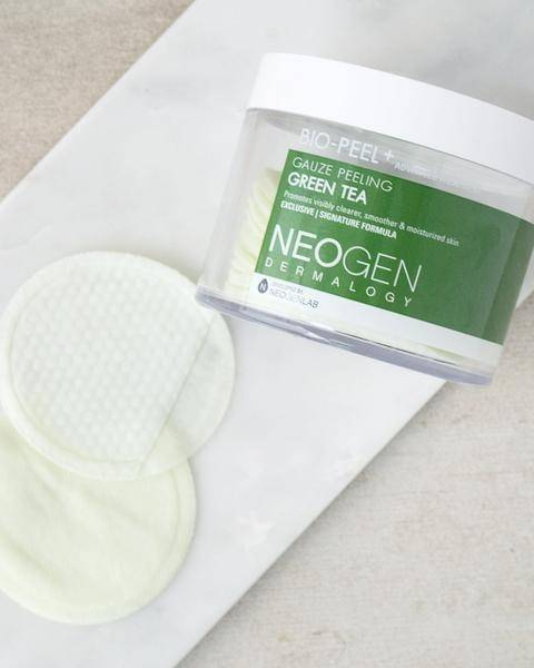 Пилинг - Диски С Экстрактом Зеленого Чая Neogen Dermalogy BIO-PEEL GAUZE PEELING 1 - Фото 2