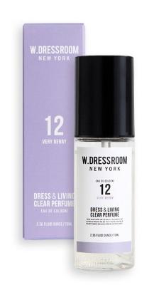 Парфюмированная вода для одежды и дома  W.Dressroom  Dress & Living Clear Perfume No.12 Very Berry 70ml 0 - Фото 1
