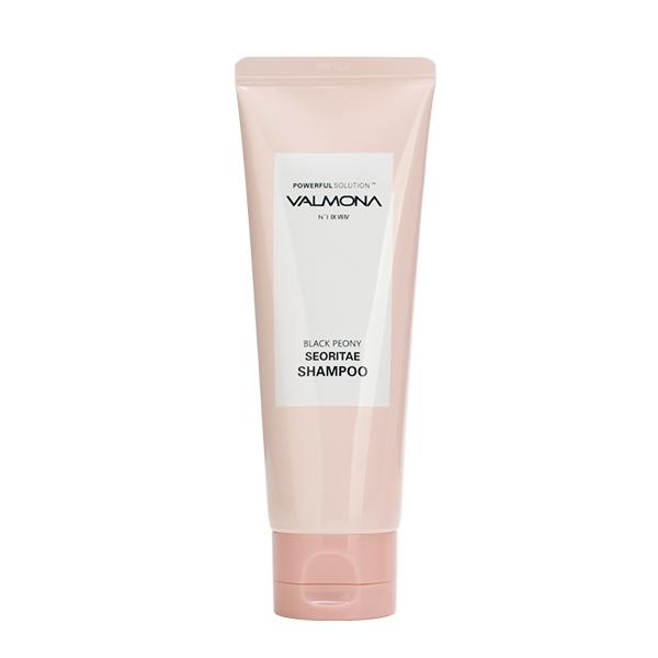 Шампунь для волос с протеинами черных бобов и пионом Valmona Powerful Solution Black Peony Seoritae Shampoo
