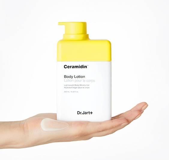 Набор: Лосьон Для Тела С Пептидами Dr.Jart+ Ceramidin Body Lotion 250ml + Гель Для Душа С Пептидами 30ml