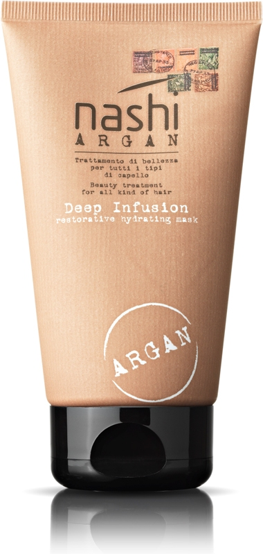 Маска для волос глубокого воздействия Nashi Argan Deep Infusion Restorative Hydrating Mask 200ml 3 - Фото 3