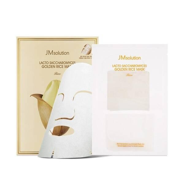 Маска  Для Выравнивания Тона С Экстрактом Риса JM solution Lacto Saccharomyces Golden Rice Mask 0 - Фото 1