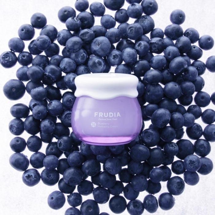 Увлажняющий крем для лица с экстрактом черники Frudia Blueberry Hydrating Cream