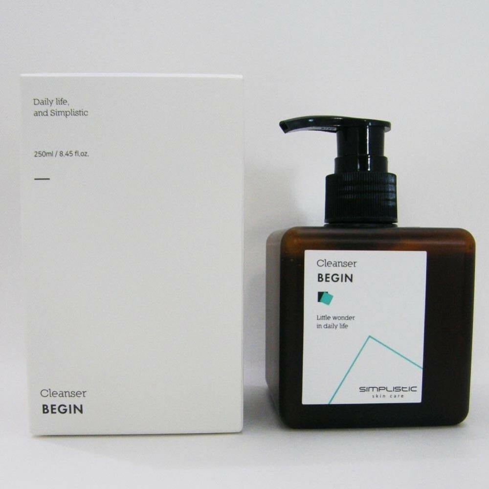 Пенка органическая для бережного очищения кожи с мёдом Simplistic Skincare Cleanser Begin 250ml 0 - Фото 1
