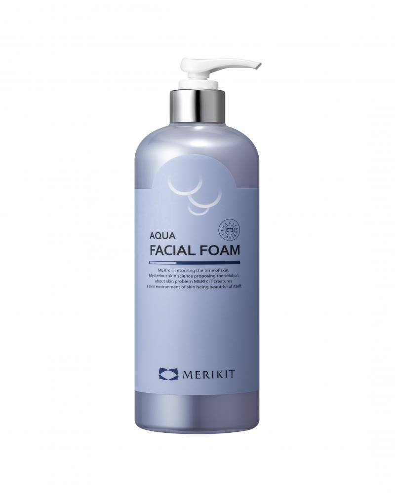 Пена для умывания успокаивающая с аллантоином  Merikit Aqua Facial Foam 500ml 0 - Фото 1