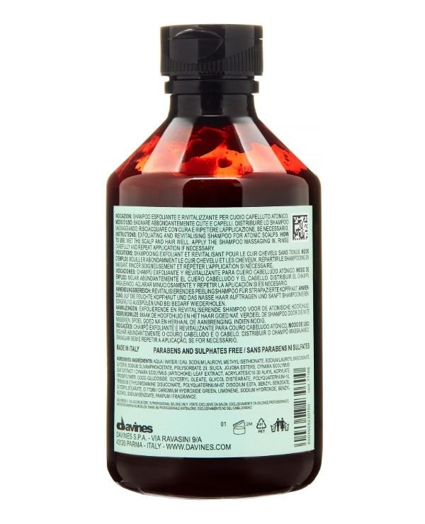 Шампунь-скраб для волос детоксицирующий Davines Detoxifying Shampoo 100ml 2 - Фото 2
