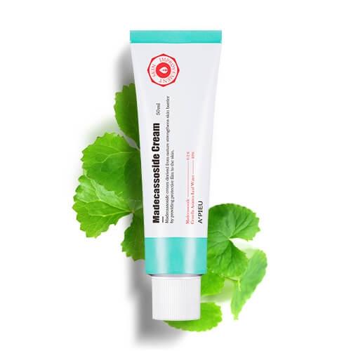 Крем лечащий с экстрактом центеллы для проблемной кожи A'pieu Madecassoside Intensive Cream 50ml 0 - Фото 1