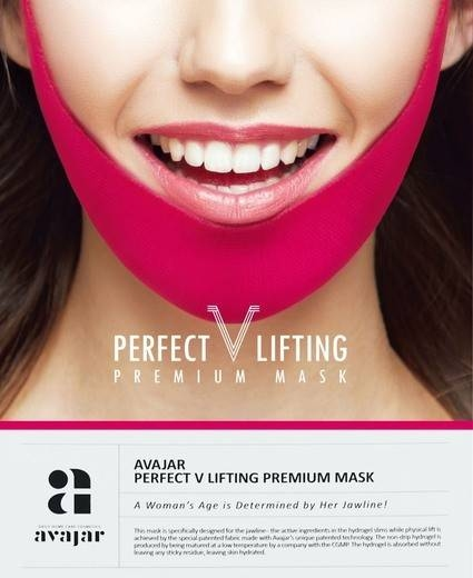 Маска Для Коррекции Овала Лица AVAJAR PERFECT V LIFTING PREMIUM MASK 0 - Фото 1