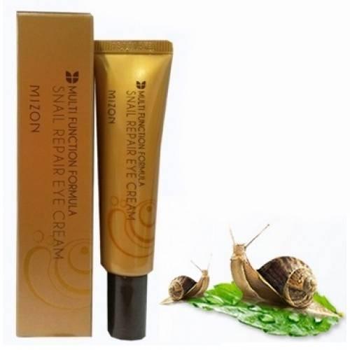 Крем Для Век Восстанавливающий С Улиточным Муцином Mizon Snail Repair Eye Cream