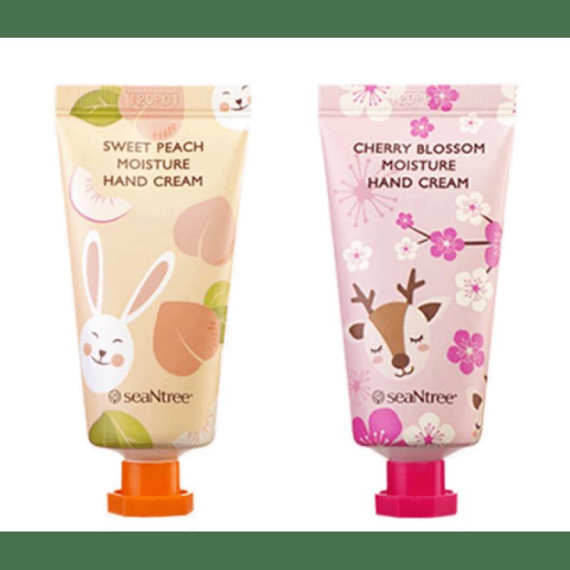 Питательный Увлажняющий Крем Для Рук С Экстрактом Ягод SeanTree Cherry Blossom Moisture Hand Cream