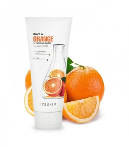 Пена для умывания укрепляющая с экстрактом апельсина It's Skin Have a Orange Cleansing Foam 150ml