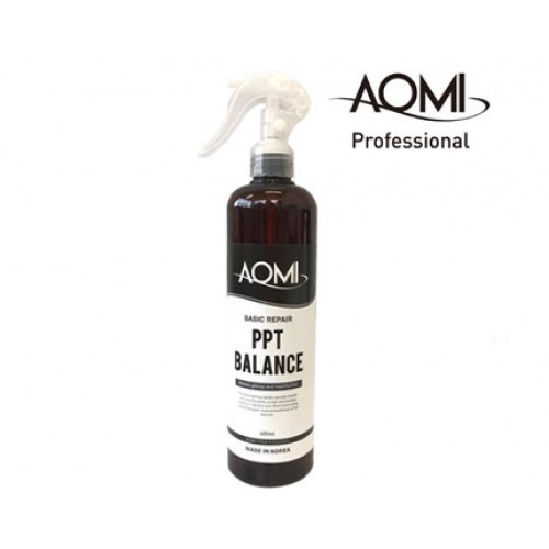 Термозащита для волос с протеинами шелка Aomi Basic Repair PPT Balance 400ml 0 - Фото 1