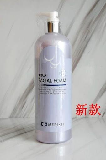 Пена для умывания успокаивающая с аллантоином  Merikit Aqua Facial Foam 500ml 2 - Фото 2