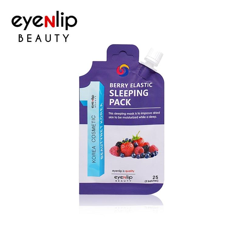 Маска ночная увлажняющая с ягодами для лица Eyenlip BERRY ELASTIC SLEEPING PACK 25ml 0 - Фото 1