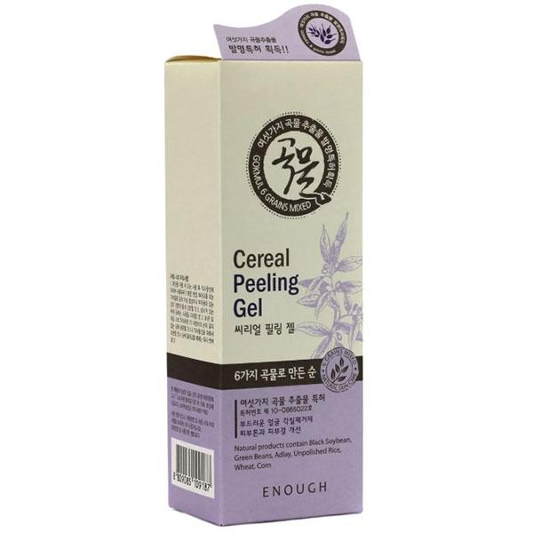 Пилинг-гель осветляющий с экстрактом риса Enough 6 Grains Mixed Cereal Peeling Gel 100 ml 2 - Фото 2