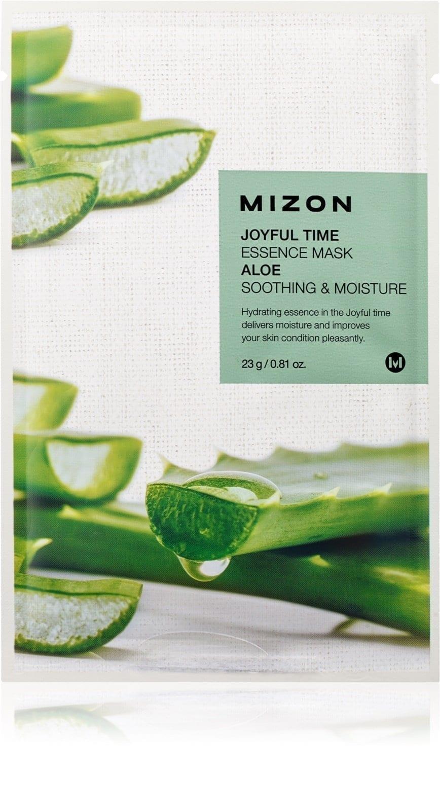 Маска успокаивающая с экстрактом алоэ Mizon Joyful Time Essence Mask Aloe Soothing & Moisture 23ml 2 - Фото 2