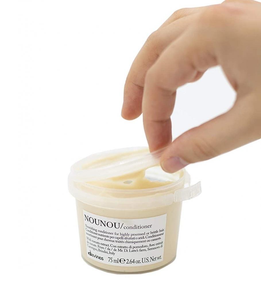 Питательный кондиционер для уплотнения ломких и поврежденных волос Davines Nourishing Nounou Conditioner 75ml 2 - Фото 2
