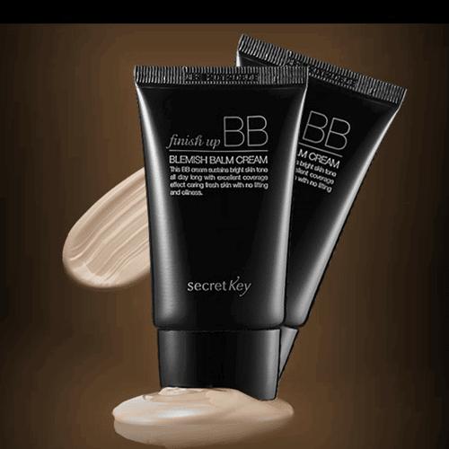 ВВ Крем Увлажняющий С Легкой Текстурой И Матовым Покрытием Secret Key Finish Up BB Cream 0