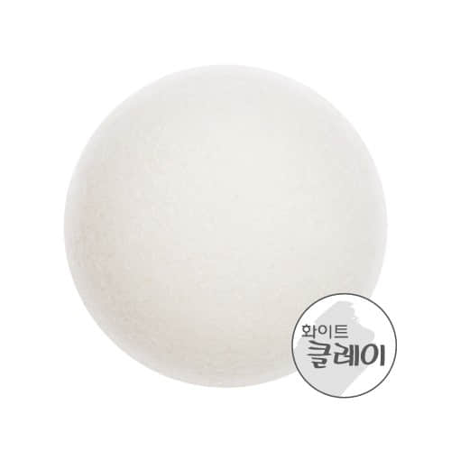 Очищающий Cпонж Конняку C Белой Глиной Missa Soft Jelly Cleansing Puff (White Clay)