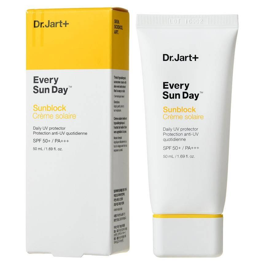 Солнцезащитный крем с экстрактом портулака Dr.Jart+ Every Sunday sun block SPF50+ PA+++, 50ml 0 - Фото 1