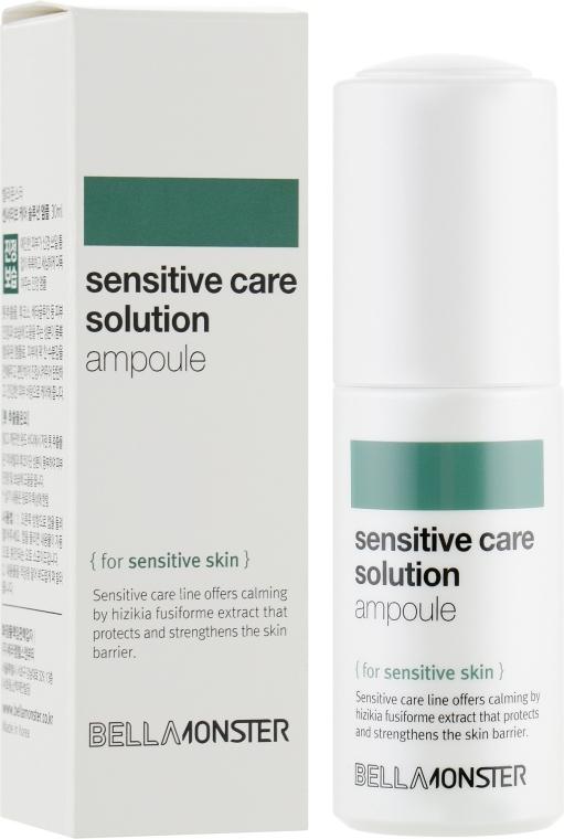 Ампула успокаивающая с экстрактом бурых водорослей для чувствительной кожи BellaMonster  Sensitive Care Solution Ampoule 30ml 0 - Фото 1