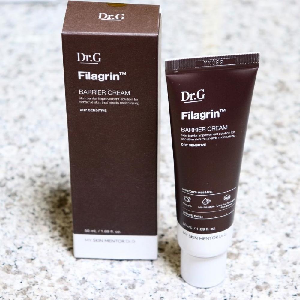 Крем увлажняющий с экстрактом черного риса для сухой и чувствительной кожи Doctor.G Filagrin Barrier Cream Dry Sensitive 50ml 0 - Фото 1