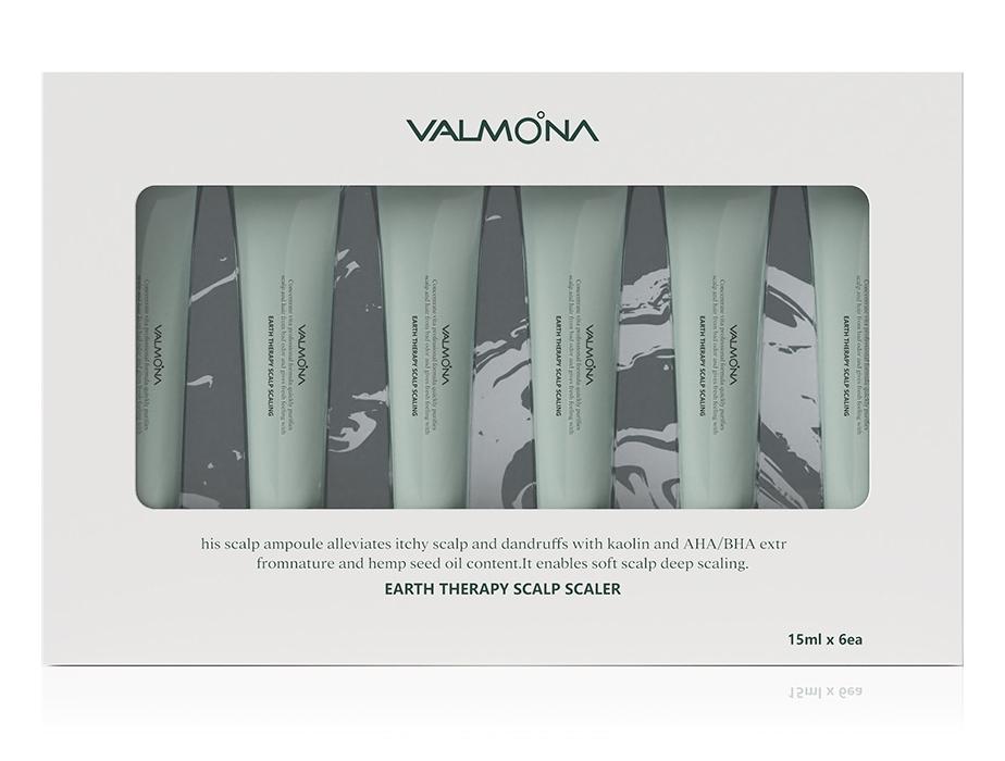 Сыворотка для кожи головы очищающая Evas Valmona Earth Therapy Scalp Scaler 6х15ml 0 - Фото 1