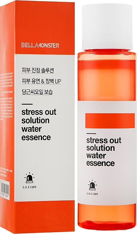 Водная эссенция антистресс с маслом моркови BellaMonster Stress Out Solution Water Essence 200ml