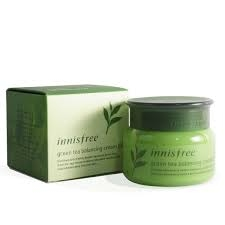 Крем увлажняющий с экстрактом зеленого чая Innisfree Green Tea Balancing Cream EX