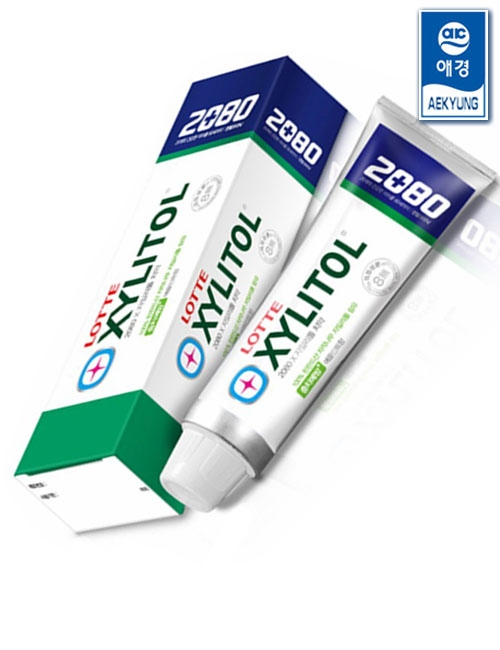 Зубная паста укрепляющая со вкусом яблока и мяты 2080 Xylitol Apple Mint Flavor Toothpaste 100ml 2 - Фото 2