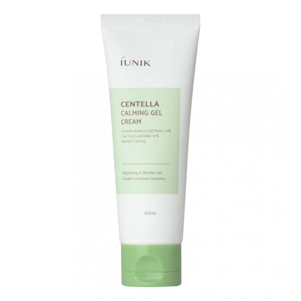 Крем-гель для чувствительной кожи лечащий интенсивно успокаивающий с экстрактом центеллы IUNIK Centella Calming Gel Cream 60ml 0 - Фото 1