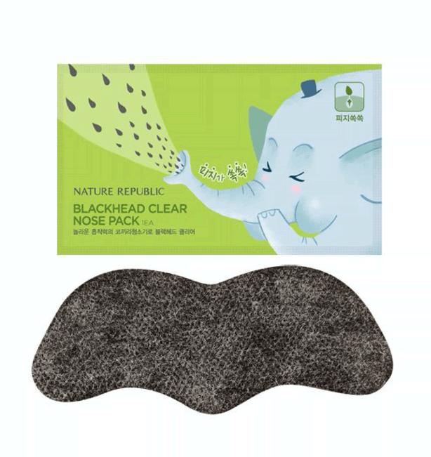 Пластыри Для Очищения Пор Nature Republic Black Head Clear Nose Pack 2 - Фото 2