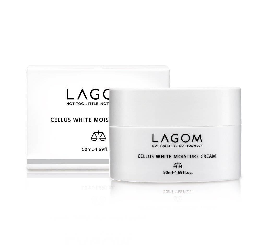 Крем Осветляющий С Ниацинамидом Lagom Cellus White Moisture Cream 50 ml 2 - Фото 2