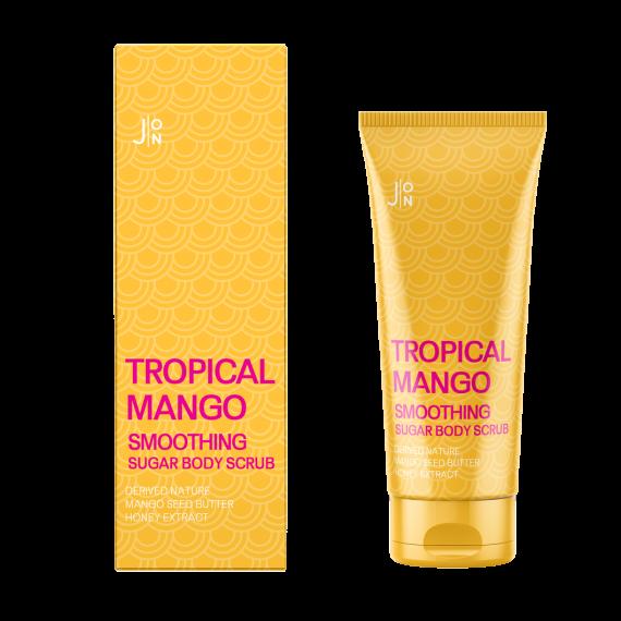 Скраб для тела «Манго» J:ON Tropical Mango Smoothing Sugar Body Scrub 250g 0 - Фото 1