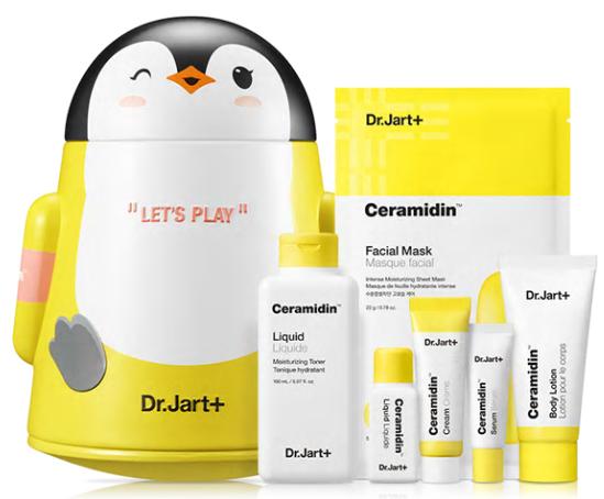 Набор Уходовый С Керамидами 6 продуктов Dr. Jart Ceramidin Liquid Play Set Восстанавливающий