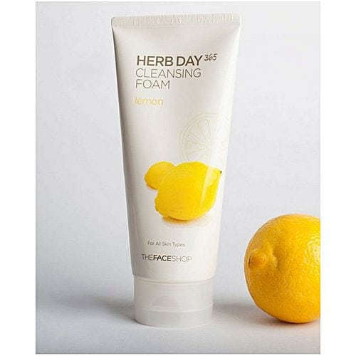 Пенка Очищающая С Экстрактом Лимона Herb Day 365 Lemon Cleansing Foam