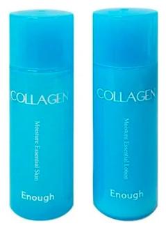 Набор миниатюр. Коллагеновые тонер+эмульсия Enough [Miniature] W Collagen Skin+Lotion Kit 60ml
