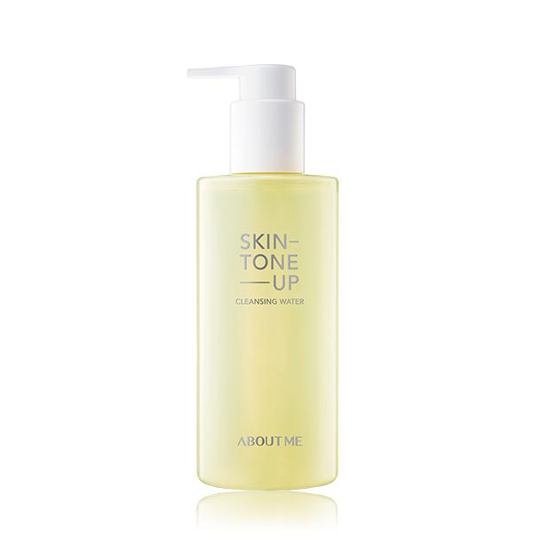 Очищающая вода с осветляющим эффектом для лица About me Skin tone up Cleansing Water 250ml 2 - Фото 2