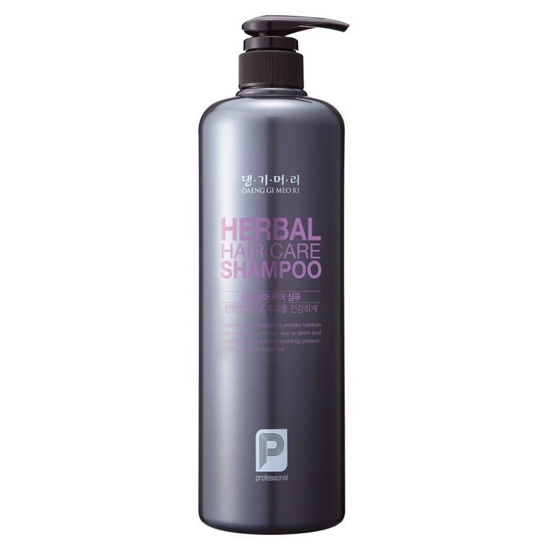 Шампунь профессиональный для укрепления волос на основе лечебных растений Daeng Gi Meo Ri Herbal Hair Care Shampoo 1000ml