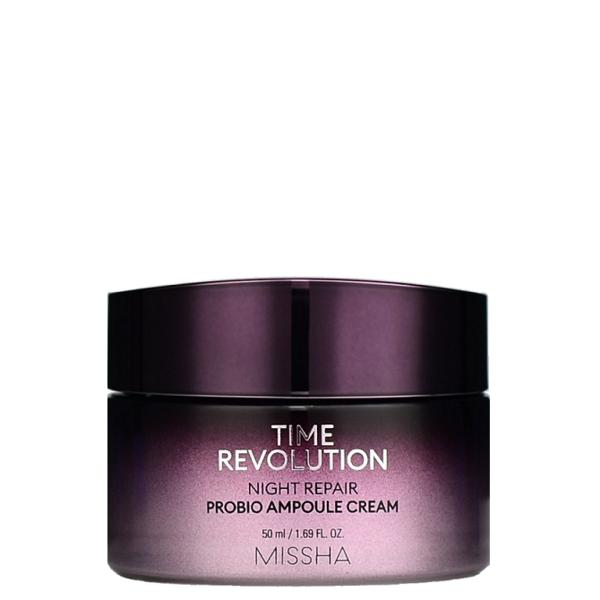 Крем Ночной Омолаживающий С Ретинолом Missha Time Revolution Night Repair Probio Ampoule Cream